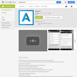 Agent – Applications Android sur Google Play