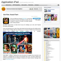 Applications et Jeux iPad, Application ipad 2, Jeux iPad 2, Le Best of des applications sur iPad la tablette d Apple