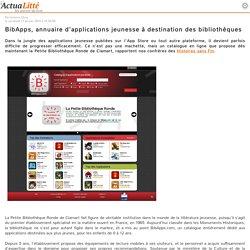 BibApps, annuaire d'applications jeunesse à destination des bibliothèques