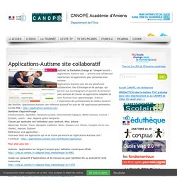 Applications-Autisme site collaboratif