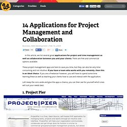 14 Applications for Project Management and Collaboration