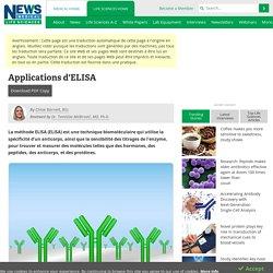 Applications d'ELISA
