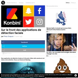 Sur le front des applications de détection faciale