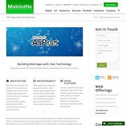 .Net Web Applications Development Services - Mobiloitte