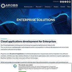 Cloud applications development for Enterprises: high expertise