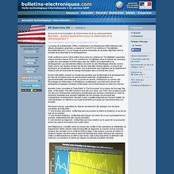2013/06/14> BE Etats-Unis335> Big Data : quelles applications pour la diplomatie et le développement ?