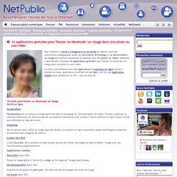 10 applications gratuites pour flouter ou dissimuler un visage dans une photo ou une vidéo