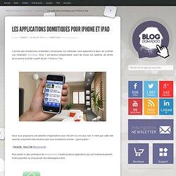 Les applications domotiques pour iPhone et iPad