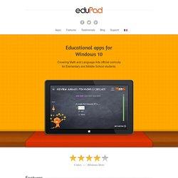 Applications éducatives pour tablettes Windows 8 et RT