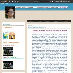 IPMO :applications, suite 1 - Psycho-énergétique et sophrologie
