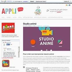 Studio Animé : appli de création d'animation pour enfants