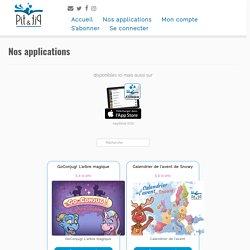Applications pour enfants - utilisées en classe - App enfant