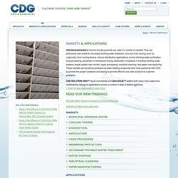 Markets Applications - CDG Environmental