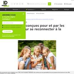 Des applications qui connectent les enfants à la nature et l'environnement