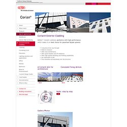 Corian Asia Pacific: Uses & Applications_Exterior_cladding