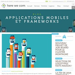 Applications mobiles et frameworks