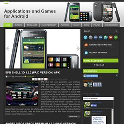Applications and Games for Android