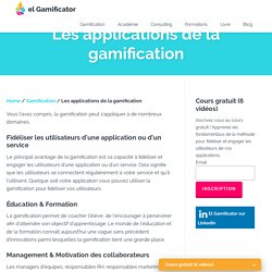 Les applications et avantages de la gamification