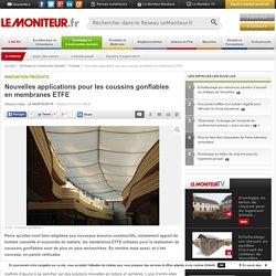 Nouvelles applications pour les coussins gonflables en membranes ETFE - Innovation produits