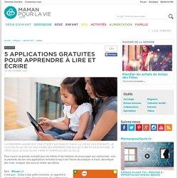 5 applications gratuites pour apprendre à lire et écrire - Blogues - Maman 24/7