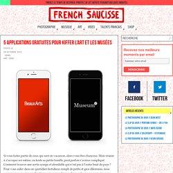 5 applications gratuites pour kiffer l'art et les musées - French Saucisse