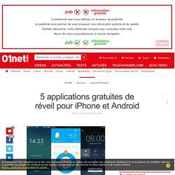 5 applications gratuites de réveil pour iPhone et Android