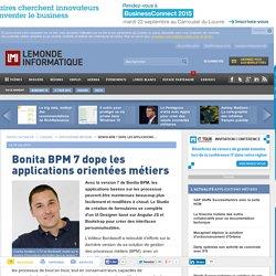 Bonita BPM 7 dope les applications orientées métiers