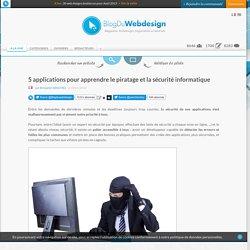 5 applications pour apprendre le piratage et la sécurité informatique
