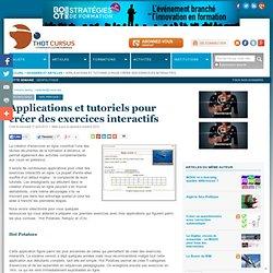 Hot Potatoes et NetQuiz Pro : Applications et tutoriels pour créer des évaluations.