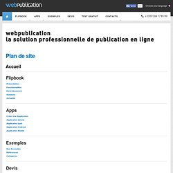 Applications iPad & iPhone - WebPublication