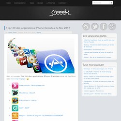 Top 100 des applications iPhone Gratuites de Mai 2012