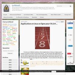 Applications et Jeux en ligne pour l'A.S.H
