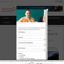 Mon top 4 des applications pour la classe - LeWebPédagogique - Partagez la connaissance !