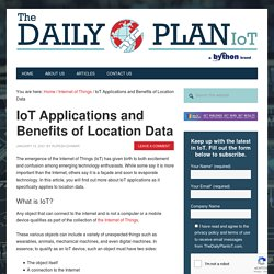 IoT Applications and Location Data Benefits