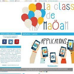 Applications / Logiciels - La classe de MaoaM