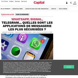 WhatsApp, Signal, Telegram... Quelles sont les applications de messagerie les plus sécurisées ?