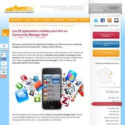 Les 22 applications mobiles pour être un Community Manager idéal
