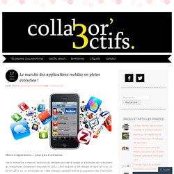 Le marché des applications mobiles en pleine évolution !