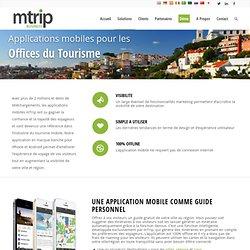 Application mobiles pour les offices du tourisme - mTrip