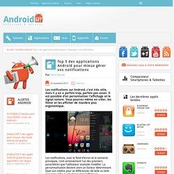 Top 5 des applications Android pour gérer vos notifications