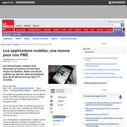 Les applications mobiles, une manne pour nos PME