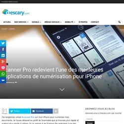 Scanner Pro, une applications de numérisation pour iPhone