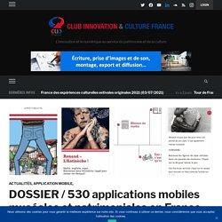 DOSSIER / 401 applications mobiles muséales et patrimoniales en France (au 26 janvier 2016)