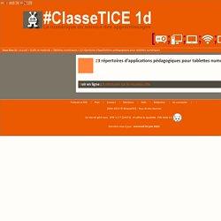 25 répertoires d'applications pédagogiques pour tablettes numériques