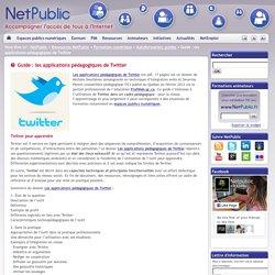Guide : les applications pédagogiques de Twitter