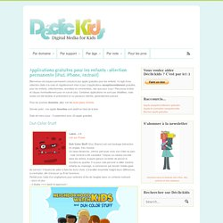 Applications gratuites pour les enfants : sélection permanente (iPad, iPhone, Android)