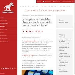 Les applications mobiles phagocytent la moitié du temps passé en ligne