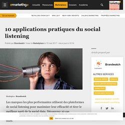 10 applications pratiques du social listening
