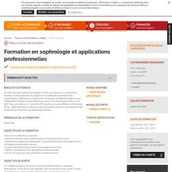 Formation en sophrologie et applications professionnelles - 11.2018