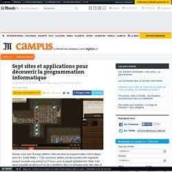 Sept sites et applications pour découvrir la programmation informatique